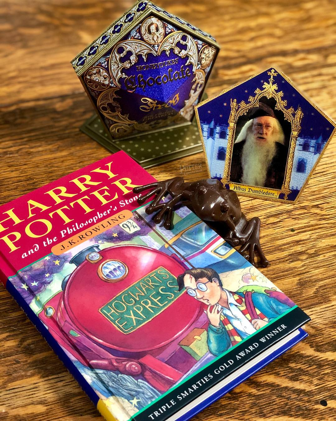 Harry Potter Noble Collection Cioccorana CHOCOLATE FROG