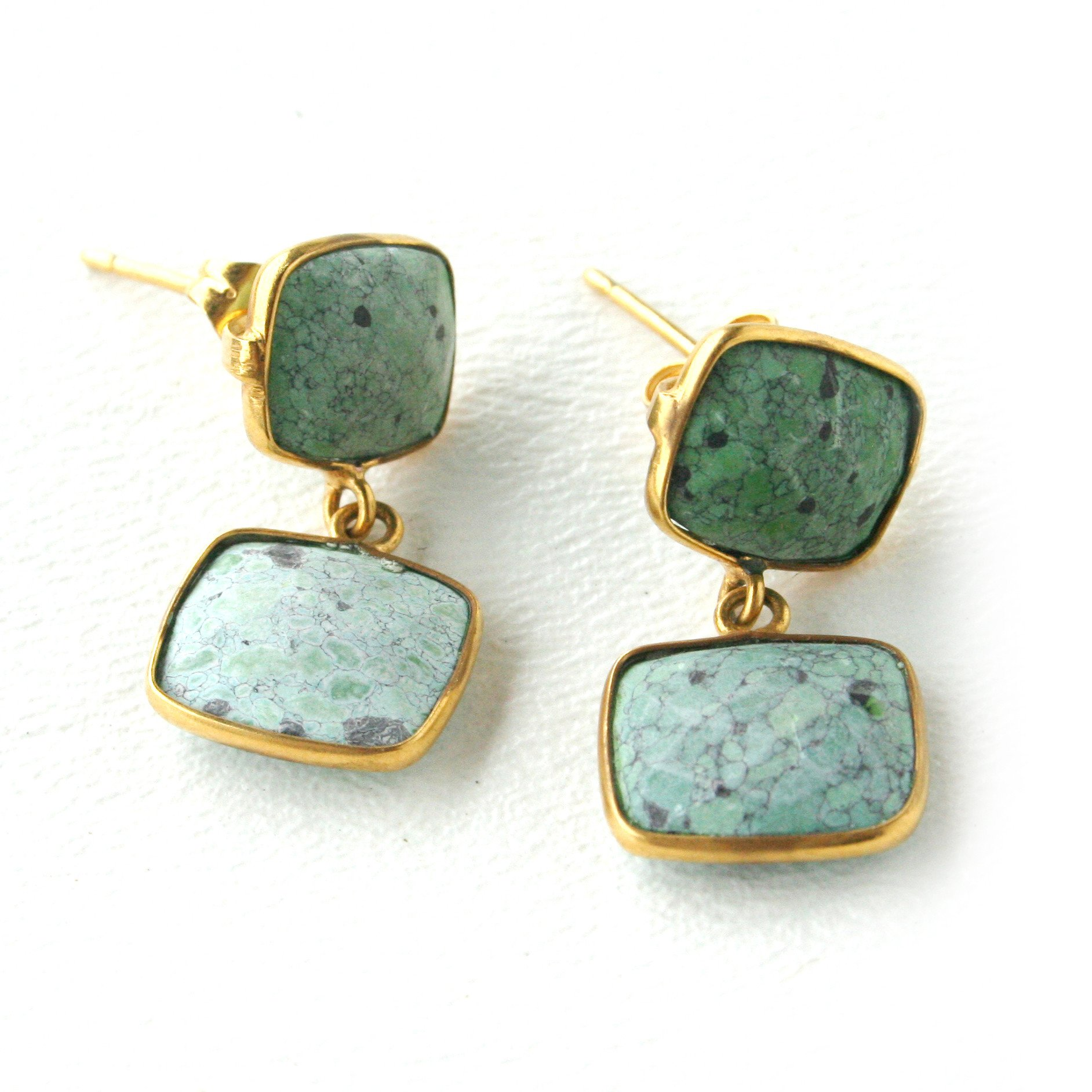 Whitten Posts - Green Turquoise