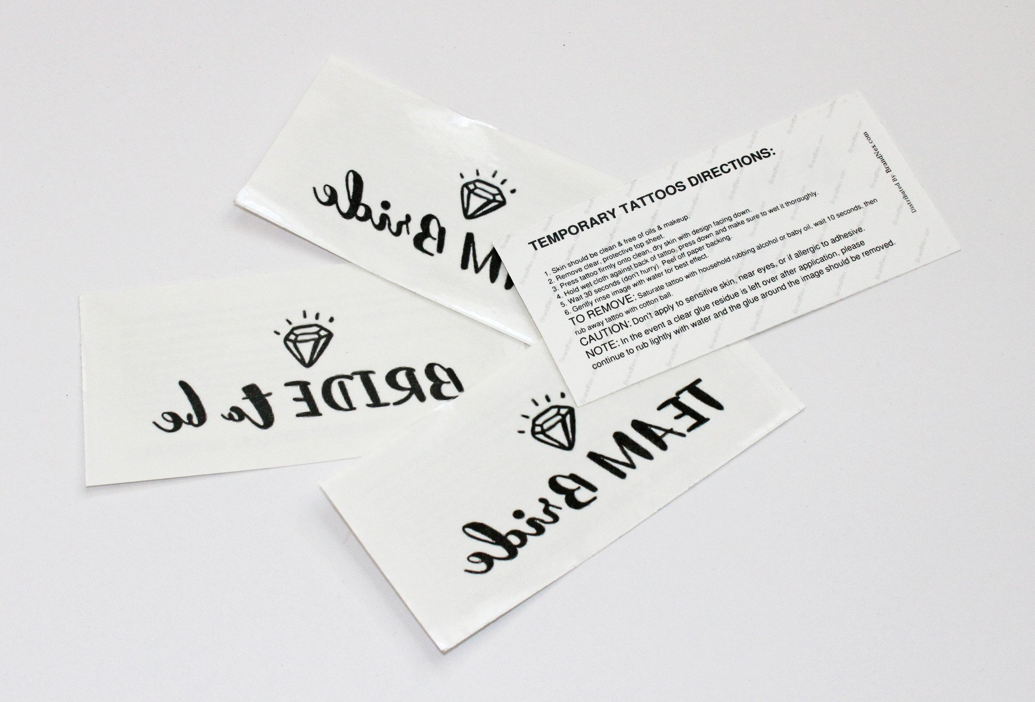 Temp Tattoo - Bachelorette Set