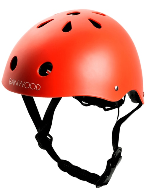 First Go! Scoot Bike Helmet, Red