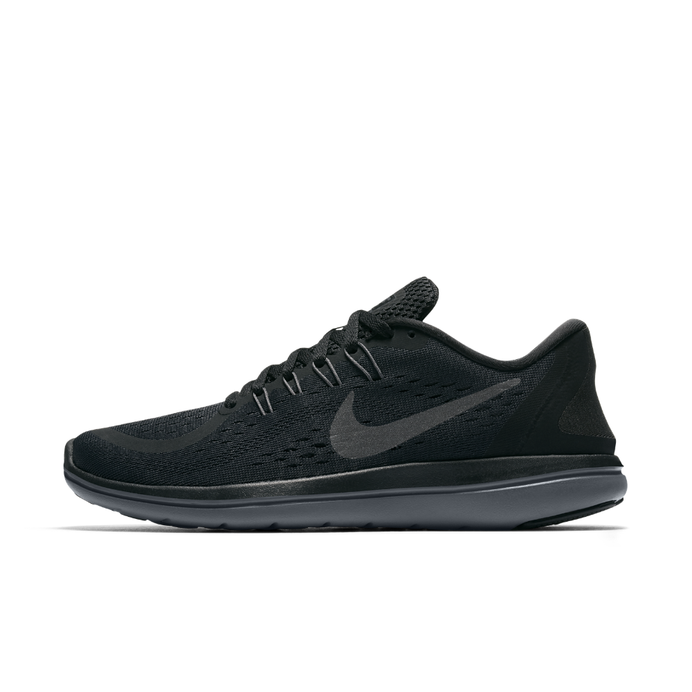 Nike Flex 2017 RN Women's Running Shoe Size 10 (Black)