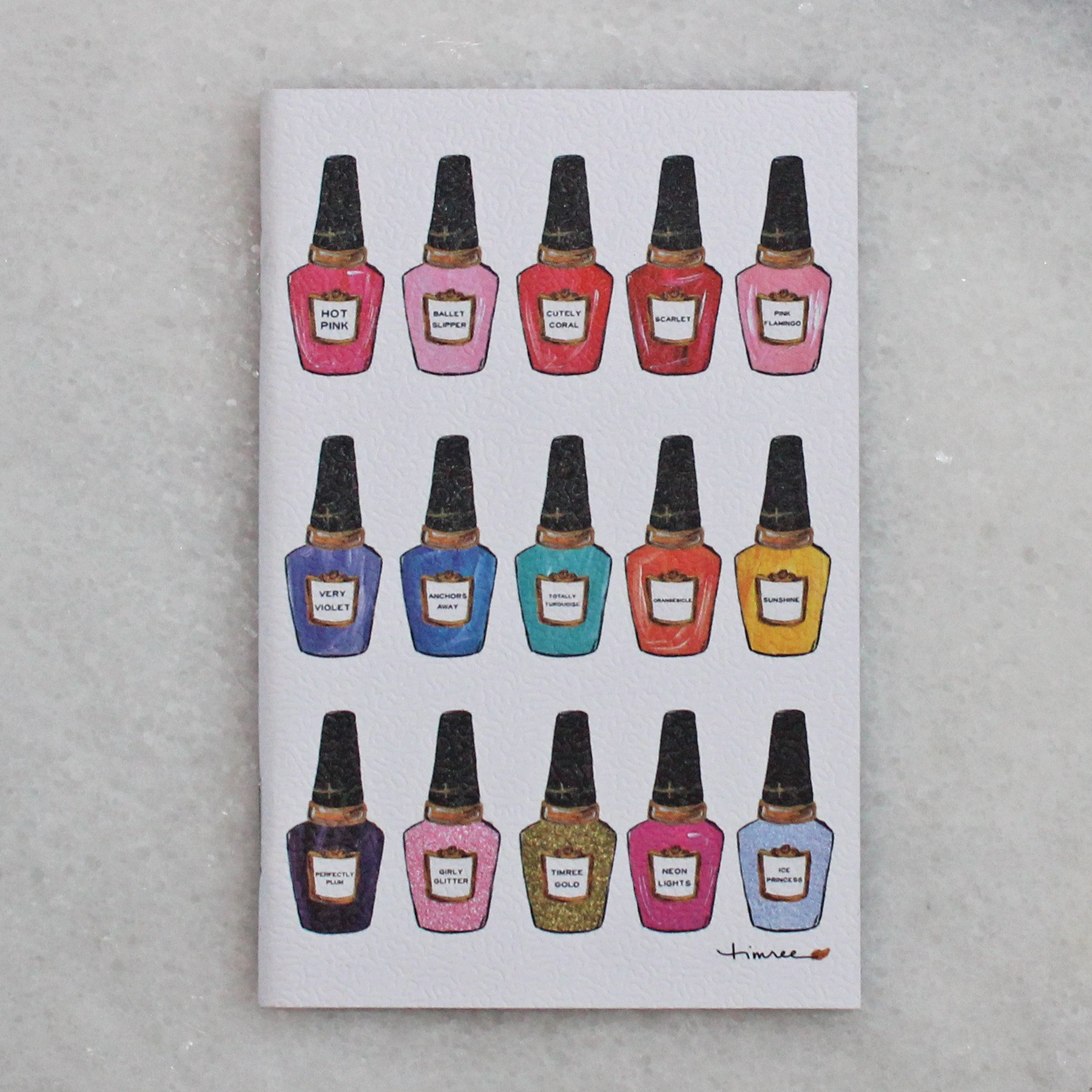 Journal - Small - Nailpolish