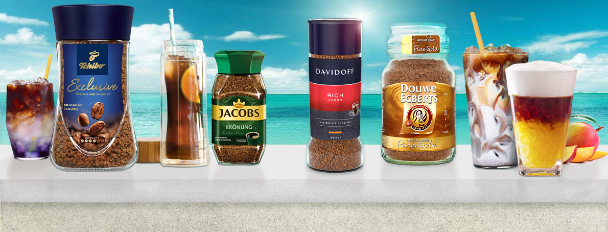 Douwe Egberts, Dallmayr, Tchibo, Jacobs, Caffe Vergnano World Famous Brands of Coffee img0