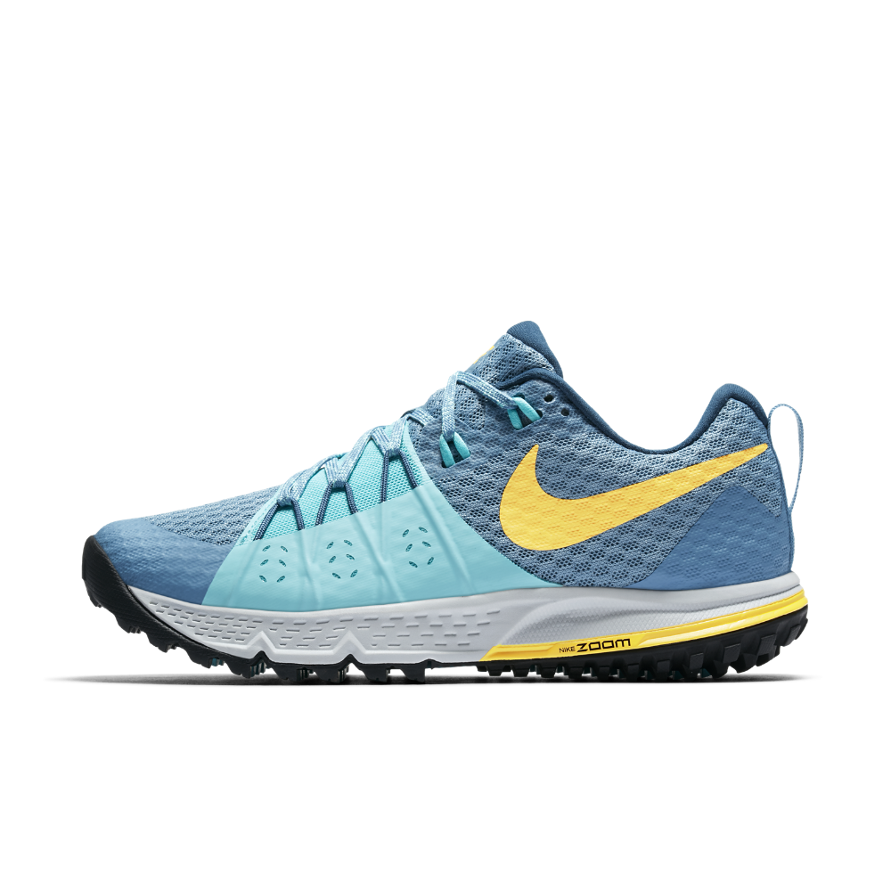 Nike Air Zoom Wildhorse 4 Women's Running Shoe Size 8.5 (Blue) - Clearance Sale