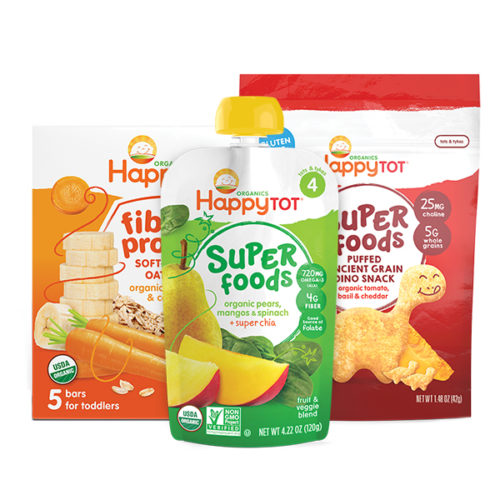 Organic Food for Baby, Tot and Kids | Happy Family Brands img1