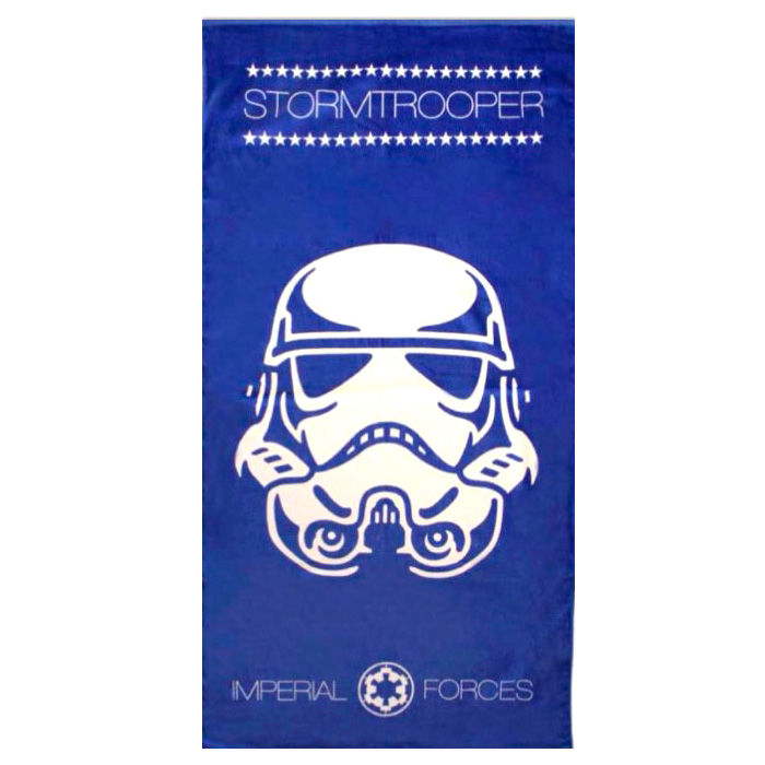 Star Wars Telo Mare Microfibra Imperial Forces Stormtrooper