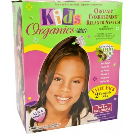 Africa's Best Kids Organics Conditioning Relaxer-Coarse Value Pk