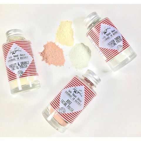 Introducing our 100% natural facial polishes