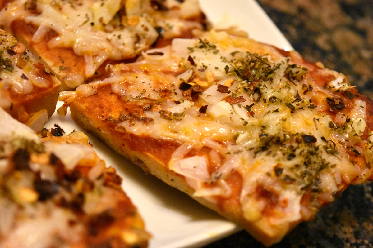 New York pizza, meet your healthy alternative from..