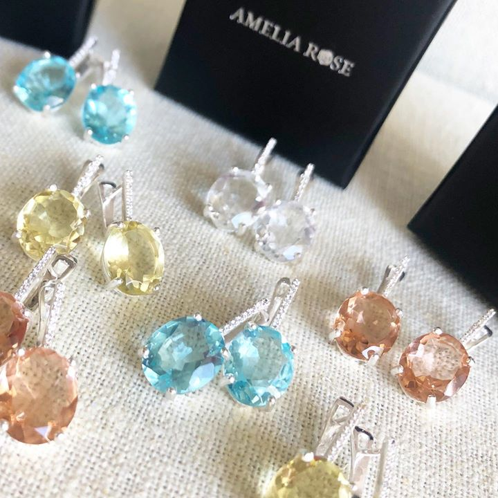 Amelia Rose for The earrings I designed for my own..