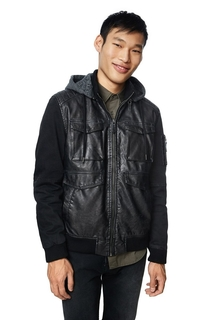 Desigual - Man - Men's black jacket Icuna - Icuna Rep - Size..