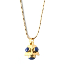 Cutchins Birthstone Necklace - Lapis (<b>sep</b>tember)