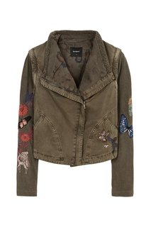 Desigual - Woman - Crossover fastening jacket - Innocenza -..