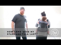 How long can I use my Standard Tula Baby Carrier?
