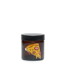 Small Amber Screw-Top - <b>Pizza</b>
