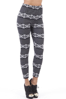 Fleece Lined Snowflake Leggings