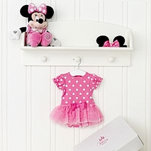 Minnie Mouse Personalised Baby Costume <b>gift</b> Set