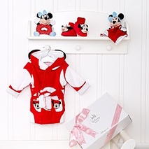 Minnie Mouse Cute and Cosy Personalised Baby <b>gift</b> Set