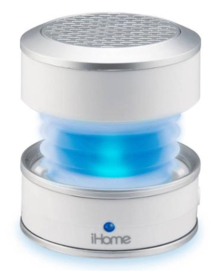 iHome IM59WC Color Change Mini Speaker, White