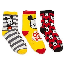 Mickey <b>Mouse</b> MXYZ Ladies' Socks, Pack of 3
