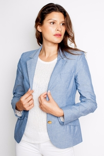 <b>Cambridge</b> Blazer in Chambray