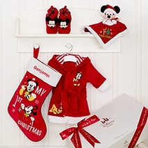 Mickey and Minnie Mouse Personalised Christmas Baby..