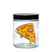 Large Clear Screw-Top - <b>pizz</b>a