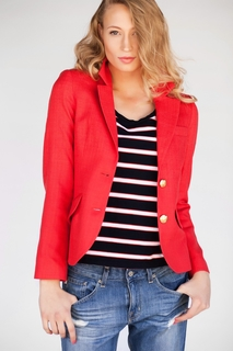 <b>Cambridge</b> Blazer in Red
