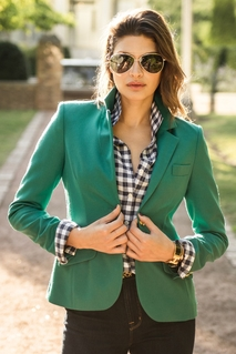 <b>Cambridge</b> Blazer in Jade