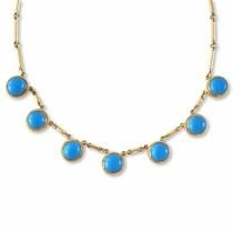 <b>Bar</b>tholomew Necklace - Blue Turquoise