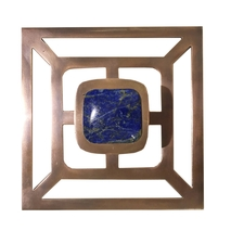 Benson Pull with Backplate / Copper