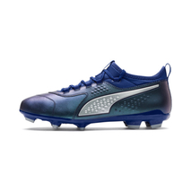 PUMA One 3 Leather FG Men's Football Boots in Sodalite Blue..
