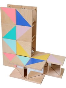 KIKO+ Ditto Mirrored Building Blocks