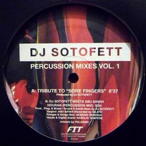 DJ Sotofett - Percussion Mixes Vol. 1 - 12