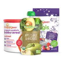 Organic Food for Baby, Tot and Kids | Happy Family Brands img0