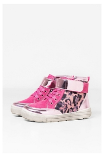 Desigual - Girl - Patterned pink sneakers - Animals Rask -..