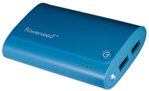 Powerseed® Tank, 7.200 mAh Blu. Power Bank Esterno per..