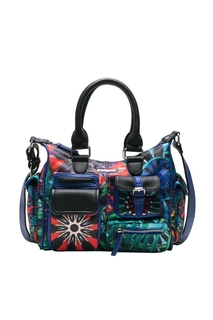 Desigual - unisex - Blue mini bag - Indian Galactic - Indian..
