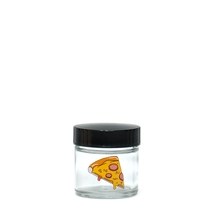 X-Small Clear Screw-Top - <b>Pizza</b>