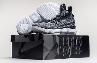 FIRST LOOK AT THE NIKE LEBRON 15
