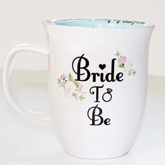 Start your morning with the right coffee mug like our Bride-To-Be cup