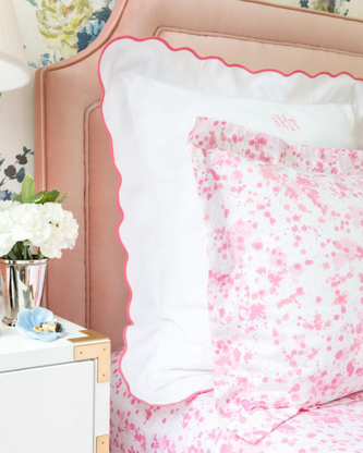 Made in the USA, our Pique line is the perfect accent to our printed bedding!