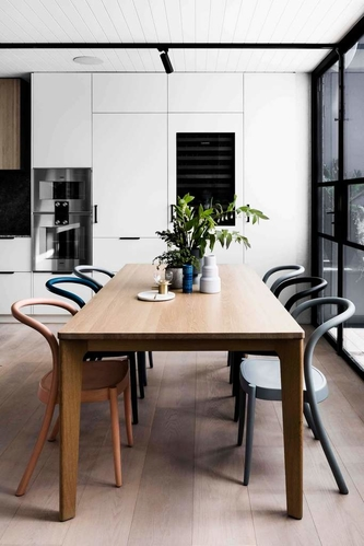 BLACK, WHITE AND WOOD ALL OVER