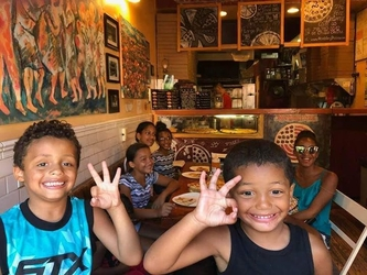 #Roeblingpizza #Happykids #Summer2018..