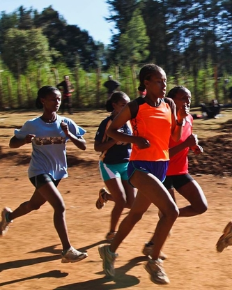 Invest in girls who use running & education to..