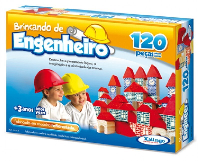 BRINCANDO DE ENGENHEIRO 120 PEÇAS Ref.: 5279.8