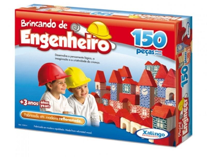 BRINCANDO DE ENGENHEIRO 150 PEÇAS Ref.: 5305.4