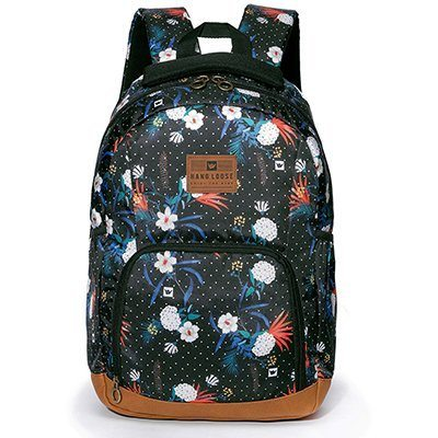 "Mochila poli. 17"" Milly HLC1355 Hang Loose PT 1 UN"