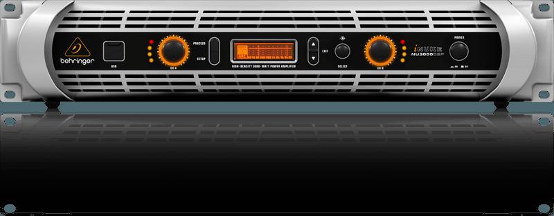 Amplificador Potência 3000 Watts Nu3000dsp Behringer