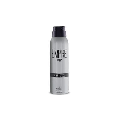 DESODORANTE AEROSOL ANTITRANSPIRANTE EMPIRE VIP 150ml